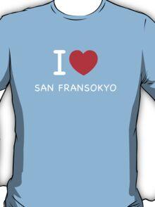 San Fransokyo Bl T-Shirt