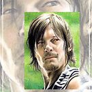 Norman Reedus miniature by wu-wei
