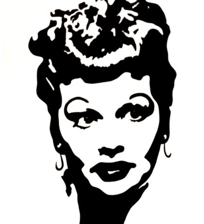 Lucille Ball (Ink) Sticker