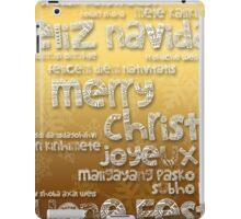 International Christmas  iPad Case/Skin
