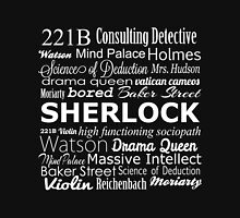 Sherlock in Words T-Shirt