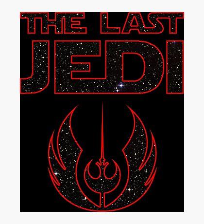 The_Last_Jedi (Rebel/Jedi Order) Photographic Print