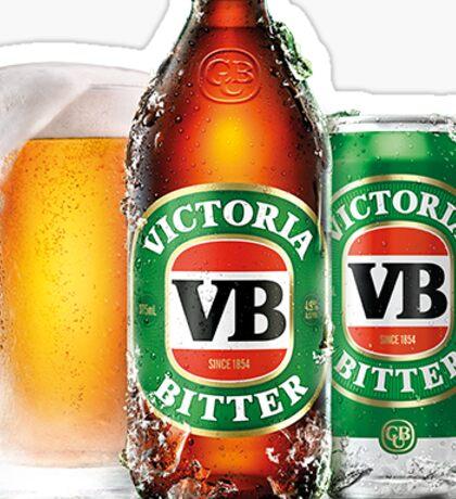 VB Victorian Bitter Sticker