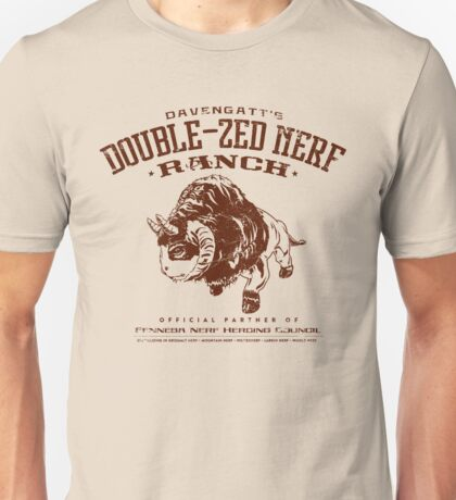 Davengatts Double-Zed Nerf Ranch Unisex T-Shirt