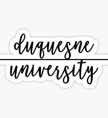 Duquesne University Sticker