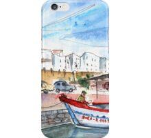 Peniscola Harbour 03 iPhone Case/Skin