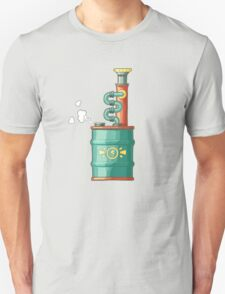 Original illustration of a steampunk styled boiler T-Shirt