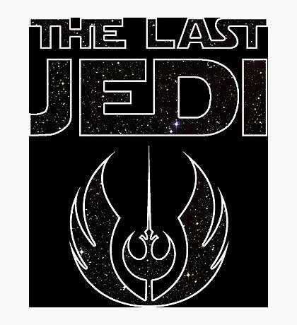 The_Last_Jedi (Jedi/Rebel Order) Photographic Print