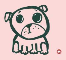 Cute puppy 2 One Piece - Short Sleeve