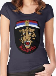Arkan's Tigers Tee Women's Fitted Scoop T-Shirt