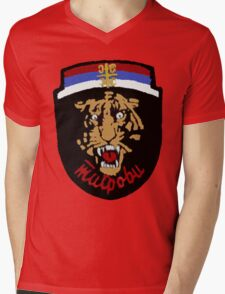Arkan's Tigers Tee Mens V-Neck T-Shirt