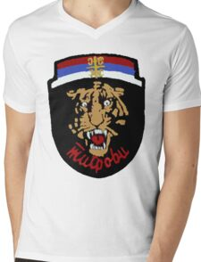 Arkan's Tigers Tee Mens V-Neck T-Shirt
