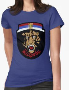 Arkan's Tigers Tee Womens Fitted T-Shirt