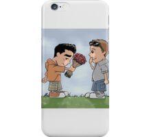 Ich und dich iPhone Case/Skin