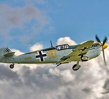 Hispano HA-1112M1L Buchón G-BWUE by Colin Smedley