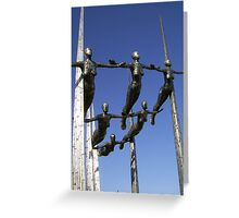 'Formation'  by Rick Kirby - Ipswich, Suffolk Greeting Card