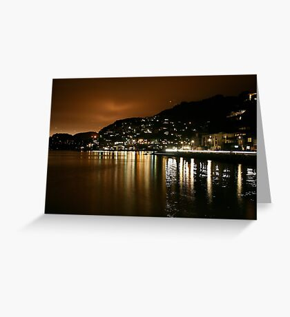 Sausalito in the Night Greeting Card