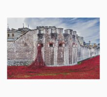 Poppies at The Tower Of London T-Shirt