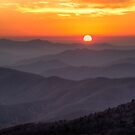 Clingman's Dome Sunset by J. Day