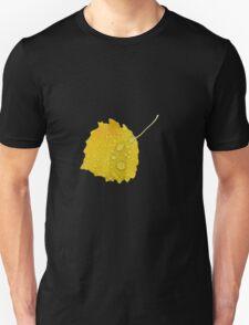 Autumn leaf in rain T-Shirt