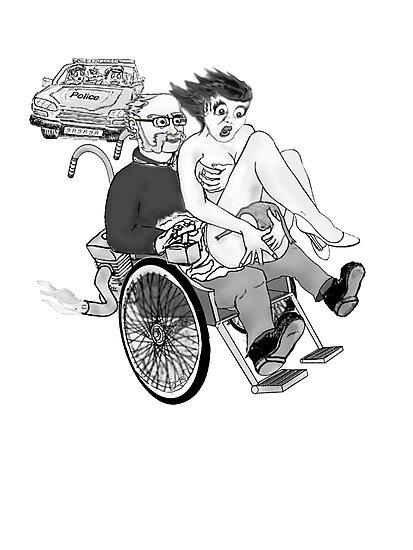 Spikes custom Wheelchair  by Radwulf