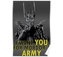 Mordor´s Army Poster
