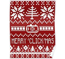 Ugly Christmas Sweater - Camera / Merry 'Click'Mas Poster