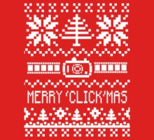 Ugly Christmas Sweater - Camera / Merry 'Click'Mas by DanaElyse