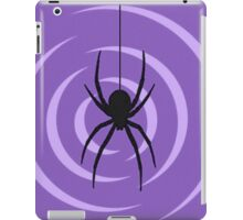 Black Widow Print iPad Case/Skin