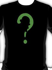 Riddler question mark T-Shirt