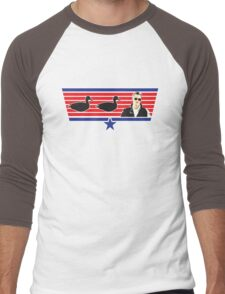 Duck, Duck, Goose! Men's Baseball ¾ T-Shirt