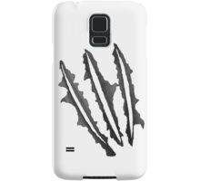 wolverine claws Samsung Galaxy Case/Skin