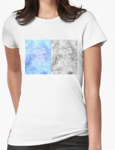 Bare trees branches 2 Womens Fitted T-Shirt