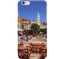 Bell Tower and Tables iPhone Case/Skin