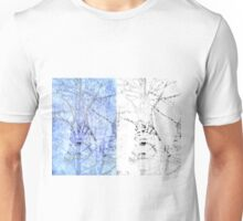 Bare trees branches 3 Unisex T-Shirt
