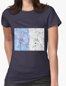 Bare trees branches 3 Womens Fitted T-Shirt