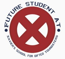 Future Xavier's Student Shirts One Piece - Long Sleeve