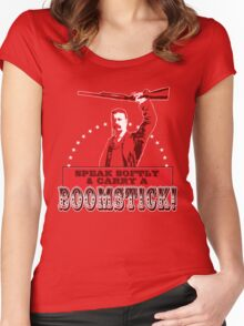 Carry a Boomstick Women's Fitted Scoop T-Shirt