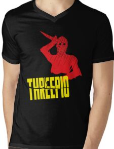 Threepio Mens V-Neck T-Shirt