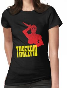 Threepio Womens Fitted T-Shirt