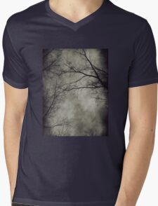 Dark trees Mens V-Neck T-Shirt