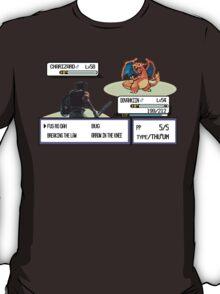 Dovahkiin vs Charizard T-Shirt