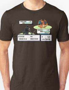 Dovahkiin vs Charizard T-Shirt