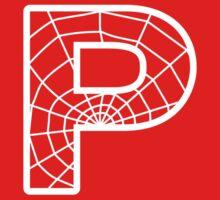 Spiderman P letter Kids Tee
