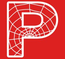 Spiderman P letter by Stock Image Folio