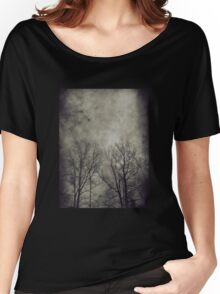 Dark trees 2 Women's Relaxed Fit T-Shirt