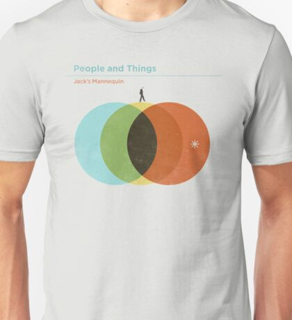 Jack's Mannequin People and Things Tour  Unisex T-Shirt