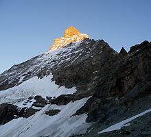Matterhorn, east face by Roy  Lindman