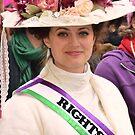 Suffragette - Women's March On Washington  by Matsumoto