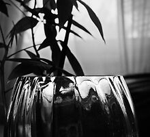 Still Life Plant and Glass  by Ellen Cotton